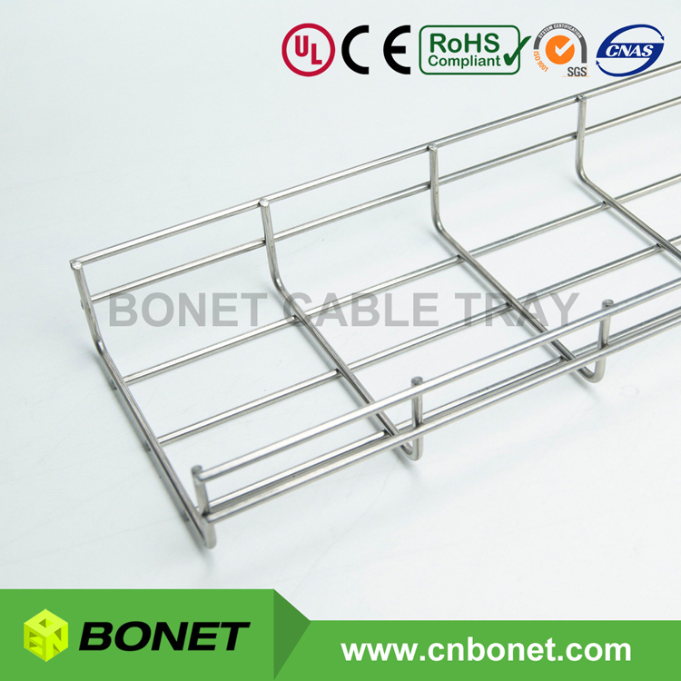 SS304 SS316 Stainless Steel Wire Basket Cable Tray - Blog of Bonet ...