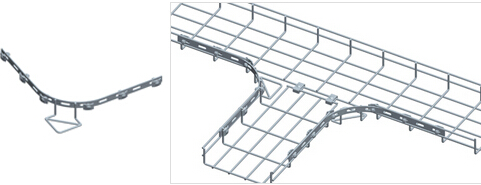 Couplers For Wire Mesh Cable Trays - Bonet Cable Tray