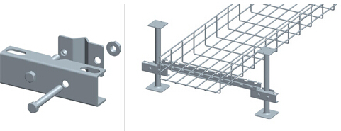 Floor And Rack Mounting Solutions For Wire Mesh Cable