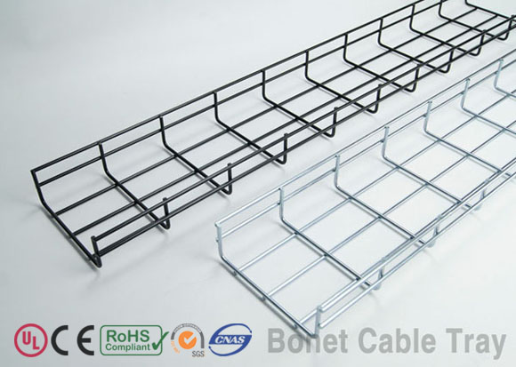 Bonet Wire Mesh Cable Tray, Wire Basket Cable Tray - Bonet Cable Tray